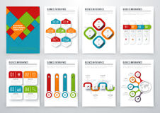 Modern infographic vector concept Royalty Free Stock Photo