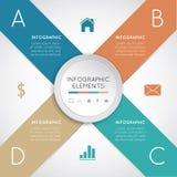 Modern infographics Royaltyfri Fotografi