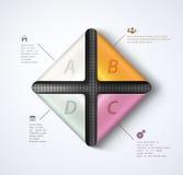 Modern infographics Stock Image