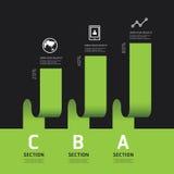 Modern infographics design options banner. Vector illustration. Stock Images