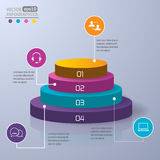 Modern infographics Stock Photos