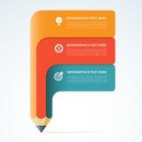 Modern infographics elements Stock Photo