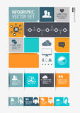 Modern Infographics Interface Royalty Free Stock Photography