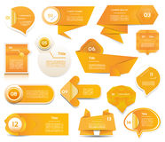 Modern infographics options banner Royalty Free Stock Photo