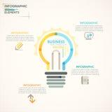 Modern Infographics Options Banner. Stock Photography