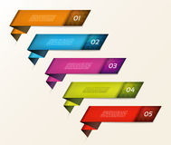 Modern infographics options banner. Vector illustration. can be used for workflow layout, diagram, number options, web design. Prints royalty free illustration