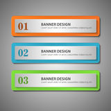 Modern infographics options banner. Vector illustration. can be Royalty Free Stock Photography