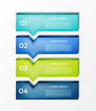 Modern infographics options banner. Vector illustration. can be used for workflow layout. Diagram, number options, web design. eps 10 stock illustration