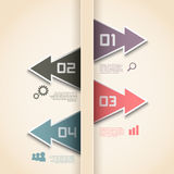 Modern infographics options layout Royalty Free Stock Photography