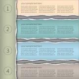 Modern infographics template1 Arkivfoto