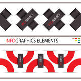 Modern Infographics template for business design. Royalty Free Stock Images