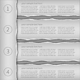 Modern infographics template Royalty Free Stock Photo
