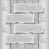 Modern infographics template Stock Image