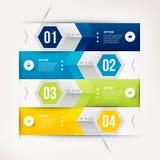 Modern infographicselement Royalty-vrije Stock Foto's