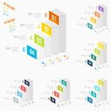 Modern infographicselement Stock Fotografie