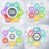 Modern infographicselement Stock Foto's