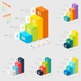 Modern infographicselement Stock Afbeelding