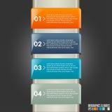 Modern infographicsmall Royaltyfri Foto
