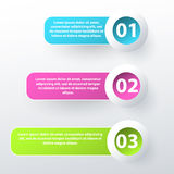 Modern inforgraphic template. Can be used for banners, website templates and designs Royalty Free Stock Photo