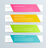 Modern inforgraphic template. Can be used for banners, website templates and designs, infographic posters, brochures, ads design Stock Photo