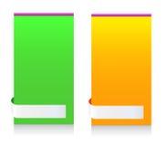 Modern informationsram om meddelande som är färgrik Royaltyfria Bilder