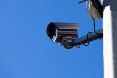 Modern Infrared Day-Night Camera Royalty Free Stock Photo