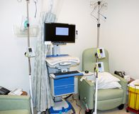 Modern infusion unit Stock Images