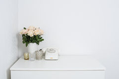 modern inre dekor Fotografering för Bildbyråer