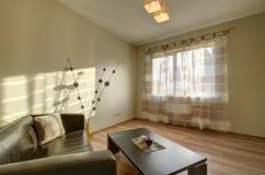 modern inre livingroom Arkivfoto