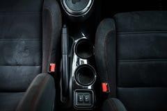 Modern instrumentbräda för sportbil Royaltyfri Bild