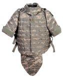 Modern interceptor body armour stock images