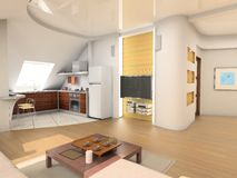 Modern interior Stock Image