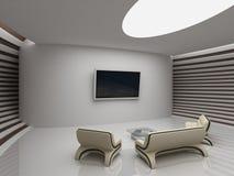 Modern interior royaltyfri illustrationer