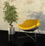 Modern interior. 3d generated render of urban design Stock Photo