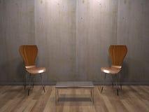 The modern interior royalty free stock photo