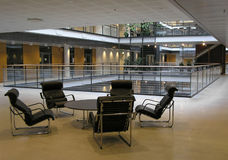 Modern interior. Interior at a research center Stock Images