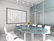 Modern interior. Royalty Free Stock Photo