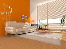 Modern interior Stock Photos