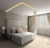 Modern interior. 3D render Stock Image