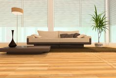 Modern interior Stock Photography