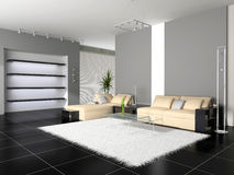 Modern interior Royalty Free Stock Photos