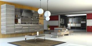 Modern interior Stock Images