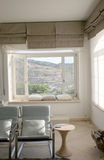 Modern Interior. With a view Stock Image