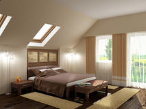 Modern interior. The image of a modern interior Royalty Free Stock Photo