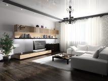 Modern interior Stock Photography