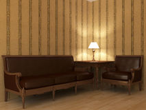 Modern interior. The image of a modern interior Royalty Free Stock Images