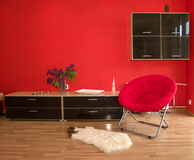Modern interior. The interior of a modern house Stock Photography