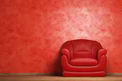 Modern interior with armchair Royalty Free Stock Photos