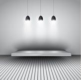 Modern interior art gallery frame design Royalty Free Stock Image