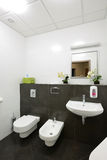 Modern interior.Bathroom Stock Photography